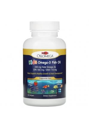 Omega-3 Fish Oil для детей 60 капс (Oslomega)