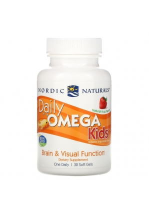 Daily Omega kids c фруктовым вкусом 500 мг 30 капс (Nordic Naturals)