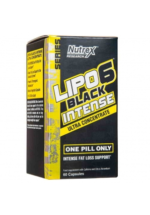 Lipo-6 Black Intense Ultra Concentrate 60 капс (Nutrex)