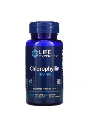 Chlorophyllin 100 мг 100 капс (Life Extension)