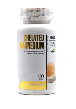 Chelated Magnesium 120 табл. (Maxler)