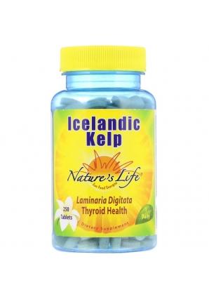 Icelandic Kelp 250 табл (Nature's Life)