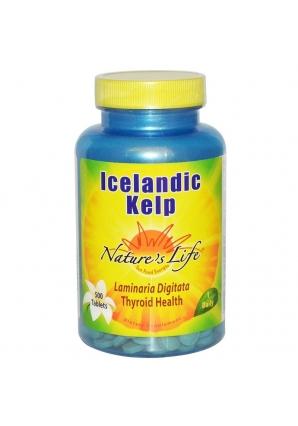 Icelandic Kelp 500 табл (Nature's Life)