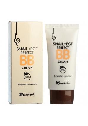 BB крем с экстрактом улитки Snail + EGF Perfect BB Cream 50 мл (Secret Skin)