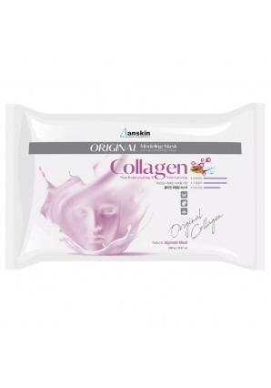 Маска альгинатная с коллагеном укрепляющая Collagen Modeling Mask 240 гр (Anskin)