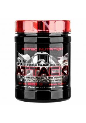 Attack 2.0 - 320 гр (Scitec Nutrition)