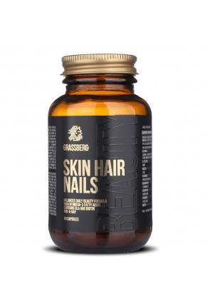 Skin Hair Nails 60 капс (Grassberg)