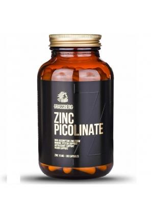 Zinc Picolinate 15 мг 180 капс (Grassberg)