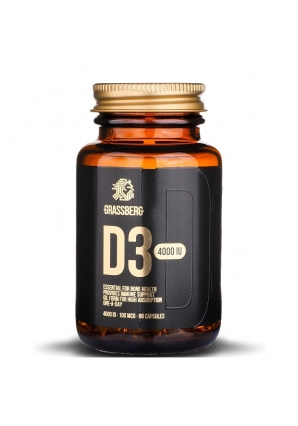 Vitamin D-3 600 IU 90 капс (Grassberg)