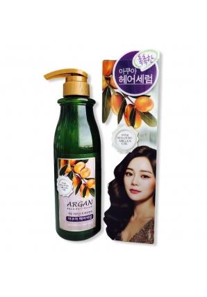 Сыворотка с аргановым маслом Confume Argan Treatment Aqua Hair Serum 500 мл (Welcos)