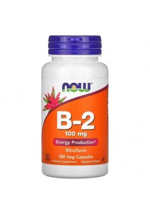 B-2 100 мг 100 капс (NOW)