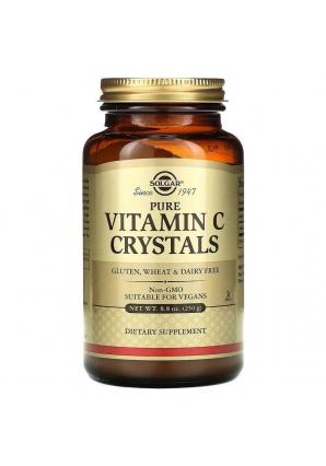 Pure Vitamin C Crystals 250 гр (Solgar)