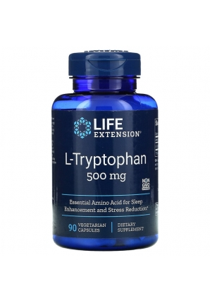 L-Tryptophan 500 мг 90 капс (Life Extension)