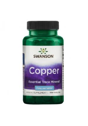 Copper 2 мг 300 табл (Swanson)