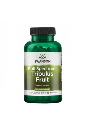 Full Spectrum Tribulus Fruit 500 мг 90 капс (Swanson)