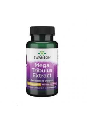 Mega Tribulus Extract 250 мг 60 капс (Swanson)