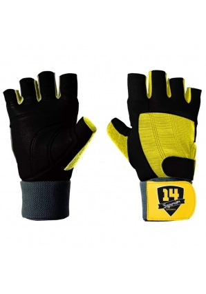 Перчатки черно-желтые (Superior 14 Supplements)