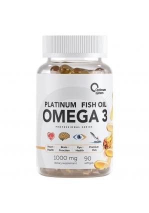 Omega 3 Platinum Fish Oil 90 капс (Optimum System)