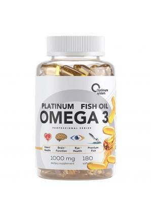 Omega 3 Platinum Fish Oil 180 капс (Optimum System)