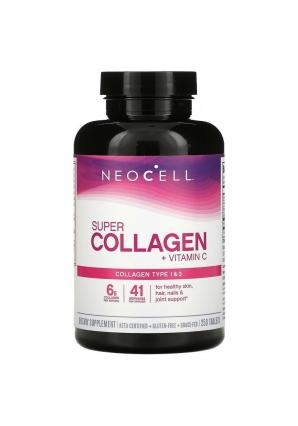 Super Collagen + C 250 табл (Neocell)