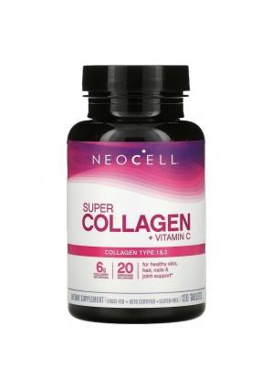 Super Collagen + C 120 табл (Neocell)
