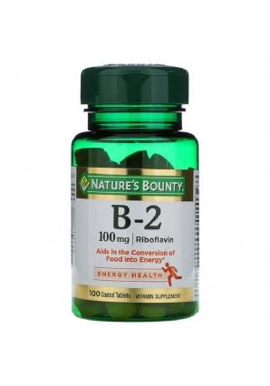Vitamin B-2 100 мг 100 табл (Nature's Bounty)