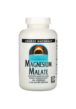 Magnesium Malate 200 капс (Source Naturals)