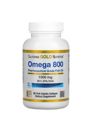 Omega 800 1000 мг 90 капс (California Gold Nutrition)