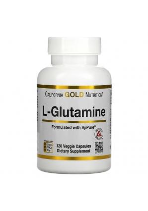 L-Glutamine 120 капс (California Gold Nutrition)
