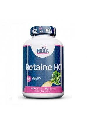 Betaine HCL 650мг 90 табл (Haya Labs)