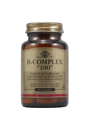 "B-Complex ""100"" 50 табл (Solgar)"