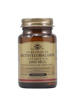 Sublingual Methylcobalamin (Vitamin B12) 1000 мкг 30 жев.табл. (Solgar)