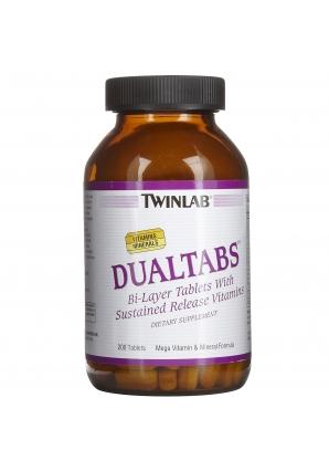 Dualtabs MEGA VIT/MIN 200 табл (Twinlab)