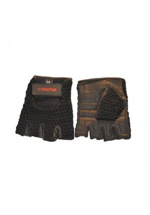 Перчатки с сеткой черные (PitTop)