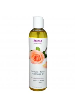 Rose Massage Oil 8 oz - 237 мл (NOW)