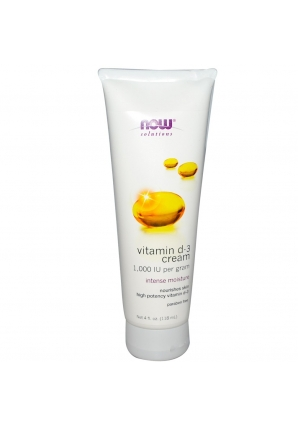 Vitamin D-3 Cream 4 fl.oz. - 118 мл (NOW)