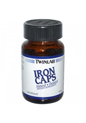 Iron 18 мг 100 капс (Twinlab)