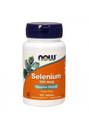 Selenium 100 мкг 100 табл (NOW)
