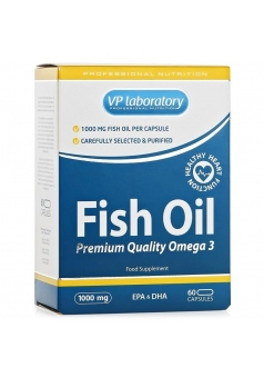 Fish Oil 60 капс (VPLab Nutrition)