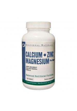 Calcium Zinc Magnesium 100 табл (Universal Nutrition)
