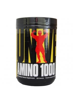 Amino 1000 500 капс. (Universal Nutrition)