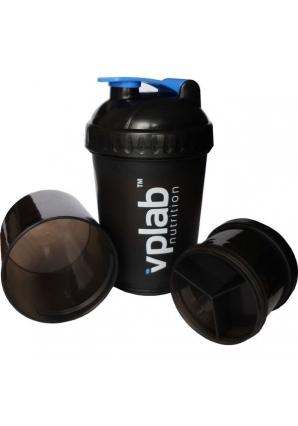 Шейкер с контейнерами 600 мл (VPLab Nutrition)