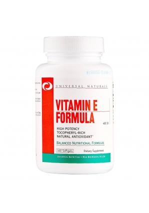 Vitamin E Formula 100 капс. (Universal Nutrition)