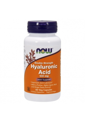 Hyaluronic Acid 100 мг 60 капс (NOW)