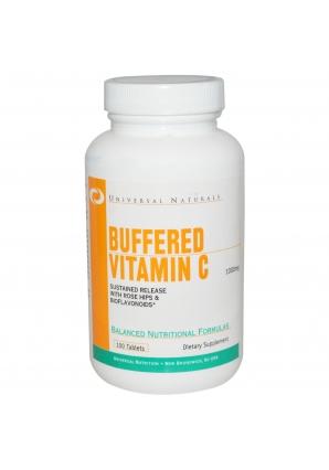 Vitamin C Buffered 1000 мг 100 табл (Universal Nutrition)