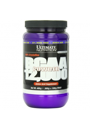 BCAA Powder 12000 400 гр (Ultimate Nutrition)