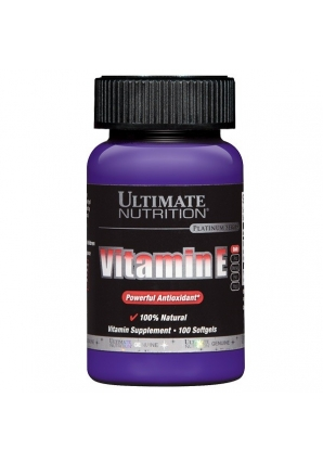Vitamin E 400 МЕ 100 капс (Ultimate Nutrition)