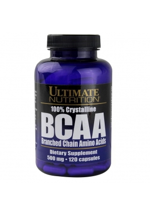 BCAA 500 мг 120 капс. (Ultimate Nutrition)