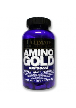Amino Gold 1000 мг 250 капс (Ultimate Nutrition)