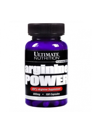 Arginine Power 800 мг 100 капсул (Ultimate Nutrition)